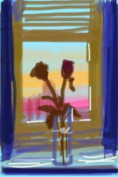 David Hockney iPad art in pictures - Telegraph