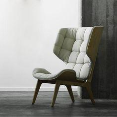 NORR 11 - Mammoth Fluffy Sessel ca.1200€ auch in anderer Holz/Stoff Kombination und Leder möglich