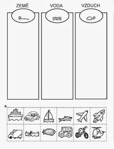 Z internetu – Sisa Stipa – Webová alba Picasa Abc Activities, Indoor Activities For Kids, Preschool Worksheets, Preschool Activities, Transportation Activities, Teaching Tools, Teaching Kids, Kids Learning, Elementary Science