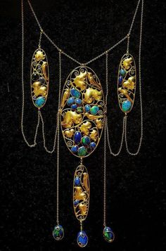 Shades of Whimsy: Art Nouveau Jewellery  Carl Otto Czeschka, 1905