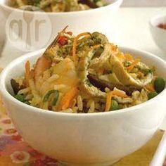 Foto de la receta: Arroz frito con verduras