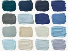 Ralph Lauren Paint Harbor Blues collection 2014 available at Home Depot via Blue Clear Sky