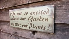 garden sign, primitive rustic sign, porch decor, outdoor decor, funny sign, porch sign, country sign, farmhouse sign, spring sign by mockingbirdprimitive on Etsy