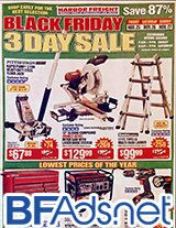 Harbor Freight's 2016 Black Friday ad scan!
