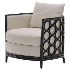 McGuire+Furniture:+Laura+Kirar+Barrel+Lounge+Chair:+A-80