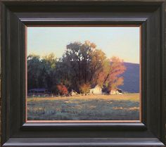 Light's Gentle Touch, Likeley, CA by Kevin Courter Oil ~ 10 x 12