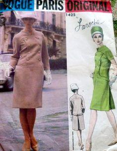 VPO 1425 Laroche Dress 60s Sz12/32/25/34 Dress complete FF+tag sld 14.99+1.99 1bd 11/2/16