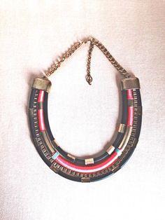 maxi colar stradivarius - bijoux stradivarius