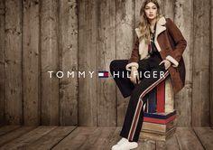 Gigi Hadid in Tommy Hilfiger ad campaign