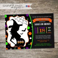 Halloween baby shower invitation pumpkin baby shower invites mom to halloween baby shower invitation costume by sabraturnerdesigns filmwisefo