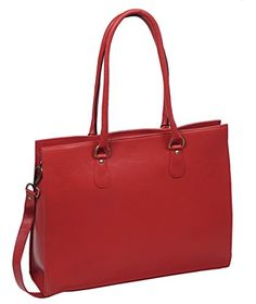 New Trending Briefcases amp; Laptop Bags: TLB Genuine Leather Shoulder Bag Laptop Tote Messenger Handbag for 15.6 Laptop - Red. TLB Genuine Leather Shoulder Bag Laptop Tote Messenger Handbag for 15.6″ Laptop – Red  Special Offer: $88.88  299 Reviews TLB Women's laptop computer shoulder bag is made from best quality genuine leather and fitted with brush stroke brass fittings. This shoulder bag...