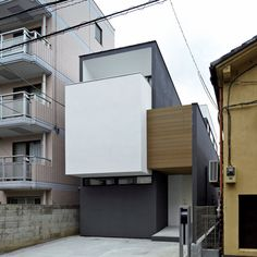 NN-House in Tokyo, Japan, by PANDA #architetcture #house #contemporary