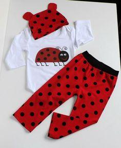 Junge Mädchen Kinderkleidung Babykleidung 3-Teilig Mütze Sweatshirt Hose 80-98
