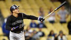 Nolan Arenado is our top #mlb #dfs #fantasybaseball #baseball hitter of the day! Follow us for more fantasy content!