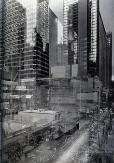It's difficult to believe that a photographer is capable of successfully creating a three-year long exposure on just one single frame, however, German photographer Michael Wesely shows that it's possible in his series entitled Open Shutter. Wesely has spent much of his career working on camera techniques that allow this process to be done. In the mid-1990's, he started capturing building projects and architectural development with long exposures over the course of years [via My Modern Met].