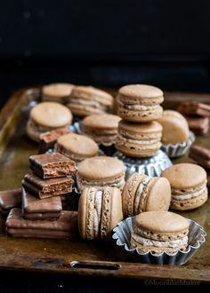Trending for Charity /-/ Tim Tam Slam Macarons