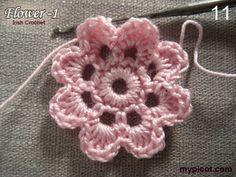 MyPicot | Free crochet patterns ✭Teresa Restegui http://www.pinterest.com/teretegui/ ✭
