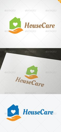 House Care Logo #GraphicRiver 1. This logo design for home services business,home and family ,distribution company 2. Excellent logo,simple and unique. 3. Fully editable with .ai and .eps format. Used Free Font (Link Included Main Download) Created: 13December12 GraphicsFilesIncluded: VectorEPS #AIIllustrator Layered: No MinimumAdobeCSVersion