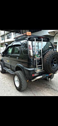 Daihatsu Terios, 4x4, Road Runner, Offroad, Goal, Monster Trucks, Bike, Vehicles, Ideas