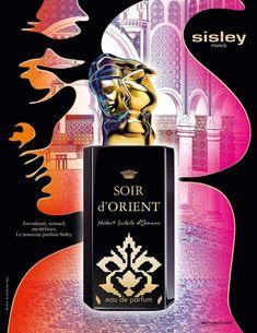 Advert of the fragrance Soir d'Orient(2015) by Sisley