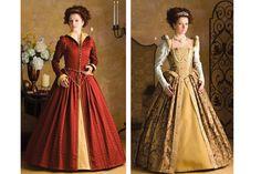 Simplicity 3782  Costume Pattern Renaissance by UpstairsAttic