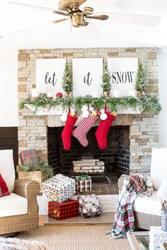 christmas-mantel-decorating-with-greenery-22