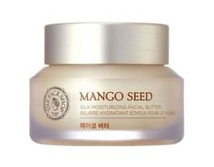 The Face Shop Mango Seed Silk Moisturizing Facial Butter claims to offer intense hydration that lasts up to 36 hours. | 18 Korean Beauty Products You Need In Your Life