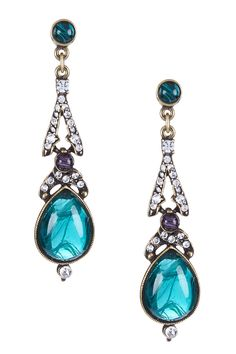 Swarovski Maharaji Teardrop Earrings