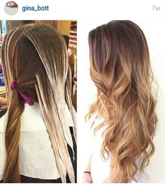 How to balayage                                                                                                                                                                                 Mehr