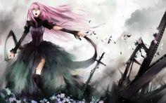 Anime Girl with Pink Hair | ... girl, Look, Luka, Megurine, music, nice, pink, pink hair, pretty