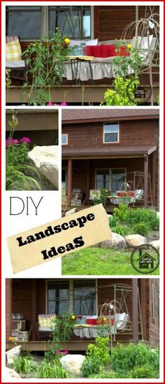 DIY Landscape Ideas by Shelly Salmon