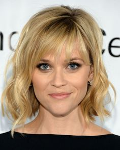 Got a choppy bob haircut? Wear your hair wavy and ask your stylist for thick, uneven bangs. Tease the roots at your crown for a little extra volume.  - GoodHousekeeping.com