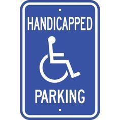 photograph about Printable Handicap Sign referred to as Pin as a result of Lynn upon Printable (Indicators) Parking signs and symptoms, Reserved
