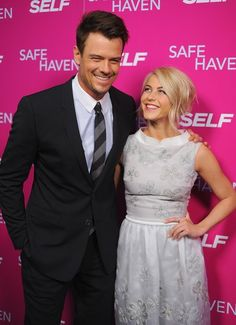Josh Duhamel & Julianne Hough laugh it up at an NYC screening of Safe Haven