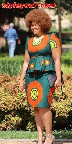 ghanaian fashion women dresses 2016 - style you 7 African Print Dresses, African Dresses For Women, African Attire, African Wear, African Fashion Dresses, African Women, African Prints, Ankara Fashion, African Style