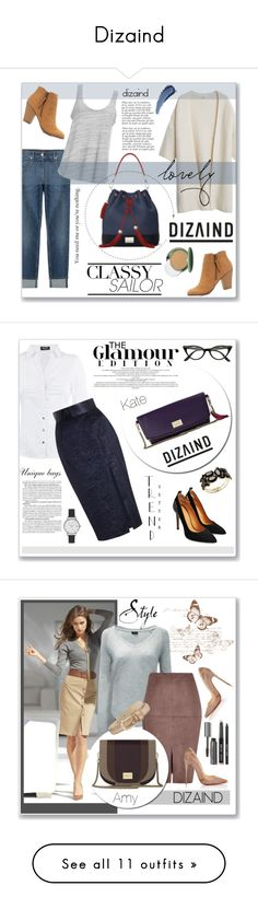 """Dizaind"" by water-polo ❤ liked on Polyvore featuring dizaind, MANGO, 7 For All Mankind, Project Social T, Charlotte Russe, Anja, Clinique, Morgan, Zimmermann and Murphy"