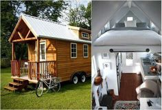 Towable cottage from the Tumbleweed Tiny House Company.  http://www.tumbleweedhouses.com/.