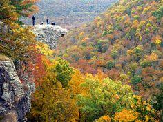 Hawksbill Crag Arkansas