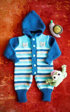 Novita Oy - Neulemalli: Vauvan neulehaalari Crochet For Kids, Knit Crochet, Crochet Baby, Baby Knitting, Children, Sweaters, Blog, How To Wear, Crafts