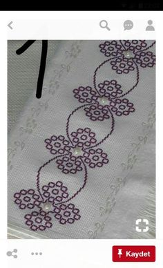 Really nice Cross-Stitch towel and pattern. Cross Stitch Boarders, Mini Cross Stitch, Cross Stitch Designs, Cross Stitching, Cross Stitch Patterns, Blackwork Embroidery, Cross Stitch Embroidery, Embroidery Patterns, Hand Embroidery