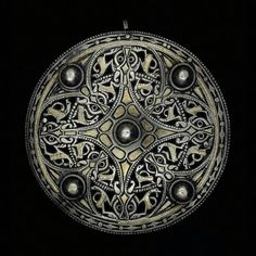 The Strickland Brooch  Anglo Saxon, 9th century  The British Museum