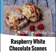 Raspberry and White Chocolate Scones from the 4 Blades Magazine