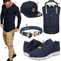 Dunkelblaues Herrenoutfit mit Cap, Armband und Weste (m1025) #dunkelblau #cap #armband #adidas #weste #amacisons #outfit #style #herrenmode #männermode #fashion #menswear #herren #männer #mode #menstyle #mensfashion #menswear #inspiration #cloth #ootd #herrenoutfit #männeroutfit