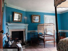 Mount Vernon- bedroom as it was in 1799