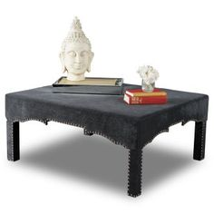 LOVE this ottoman!! ...Luxe Ottoman at the Foundary