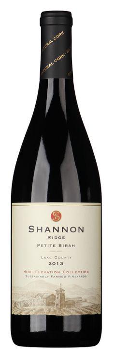 2013 High Elevation Petite Sirah - Shannon Ridge - Lake County Wine. Good