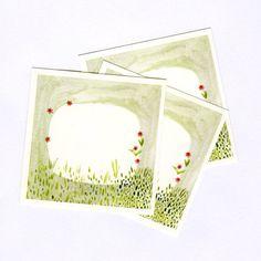 little garden labels illustrated by Katie Wilson (set of 8 stickers) | Palmerston, NZ