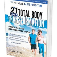 This is a favourite book of mine as it is extremely user friendly. It is more of a manual than a book and outlines the whole Primal Blueprint program in a step by step way for you to work through as you makes the changes to your diet and lifestyle. The ti