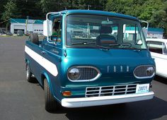cool econoline truck | Ford Econoline Pickup. I love these cab-over-engine trucks. This one ...