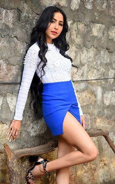 Telugu Actress Kapilakshi Malhotra Stills @ Prema Pipasi Movie Teaser Launch.Telugu Actress Kapilakshi Malhotra Stills @ Prema Pipasi Movie Teaser Launch. Movie Teaser, Heroine Photos, Telugu Cinema, Thighs, High Waisted Skirt, Mini Skirts, Product Launch, Poses, Actresses